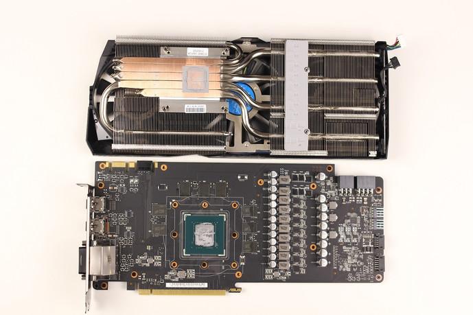 ASUS STRIX GTX 1080, hardware, ASUS STRIX